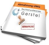 eBook zum Thema Abmahnung Wettbewerbsrecht von Rechtsanwalt Andreas Gerstel