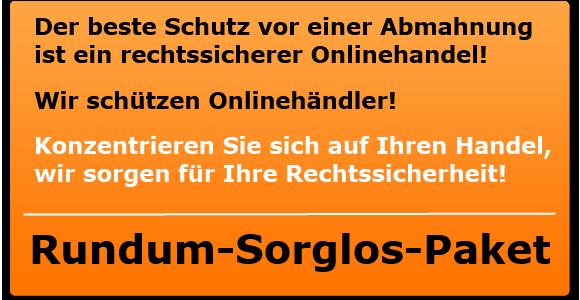 Abmahnschutz für Onlinehändler bietet Rechtsanwalt Gerstel